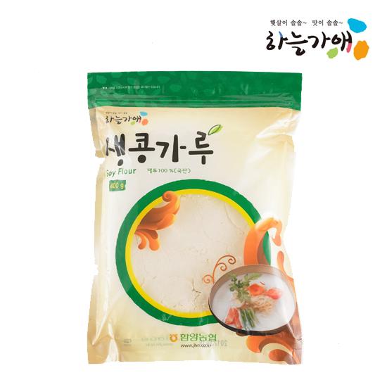 [하늘가애] 안전한 먹거리 전문 함양농협 생콩가루 400g