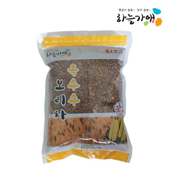 [하늘가애] 안전한 먹거리 전문 함양농협 옥수수보리차 500g