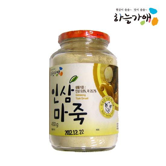 [하늘가애] 안전한 먹거리 전문 함양농협 인삼마죽 450g
