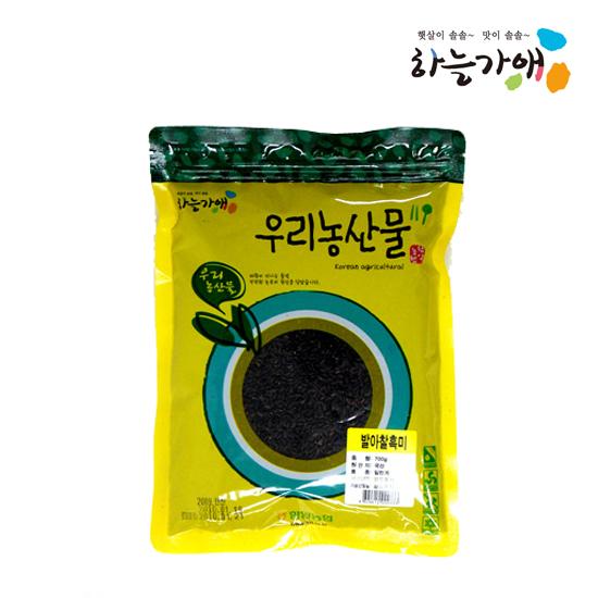 [하늘가애] 안전한 먹거리 전문 함양농협 발아찰흑미 700g