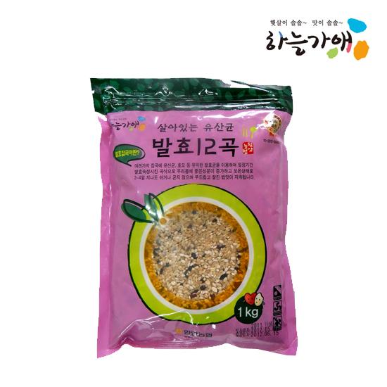 [하늘가애] 안전한 먹거리 전문 함양농협 발효12곡 1kg