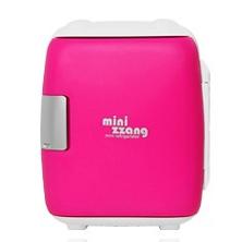 [미니짱] 미니냉온장고 mini-06(6리터) 핑크