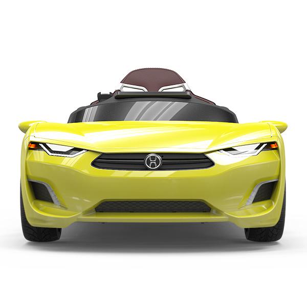 [헤네스] 어린이/유아전동차 브룬 BROON F830 LE_Yellow