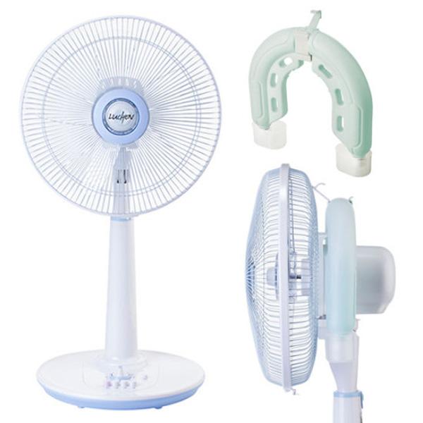 선풍기 냉돌이 루첸 아이스톤 1+1/냉풍기/냉선풍기/에어컨/U자형 선풍기