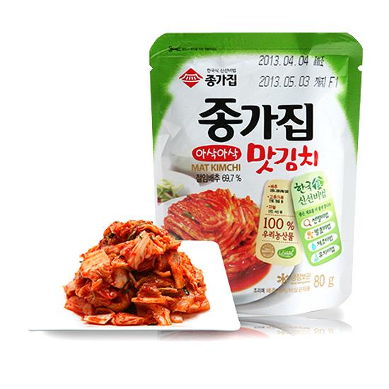 종가짐 맛김치 실속세트 (맛김치 80g x 25EA)